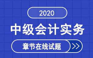 2020年中级会计师《中级会计实务》章节练习题库